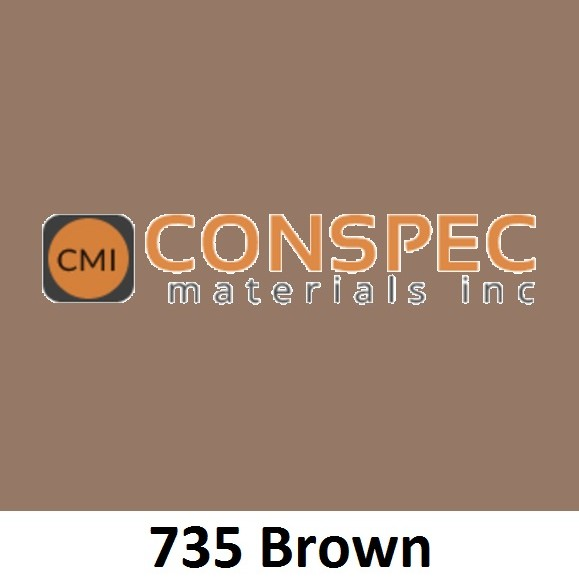 Lambert Cement and Mortar Colors CMC 735 BROWN Colorant for Concrete Pigment Conspec Materials