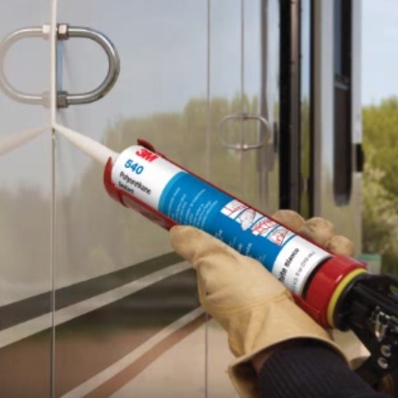 3M 540 Sealant Used on RV motorhomes and trailers