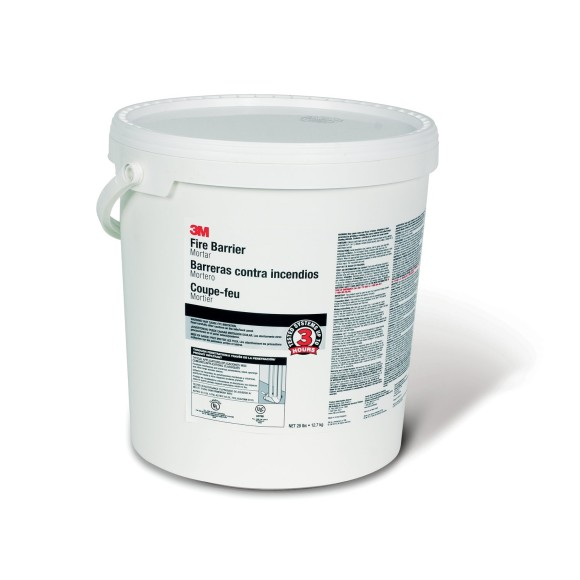 3M Fire Barrier Mortar 5-Gal Pail