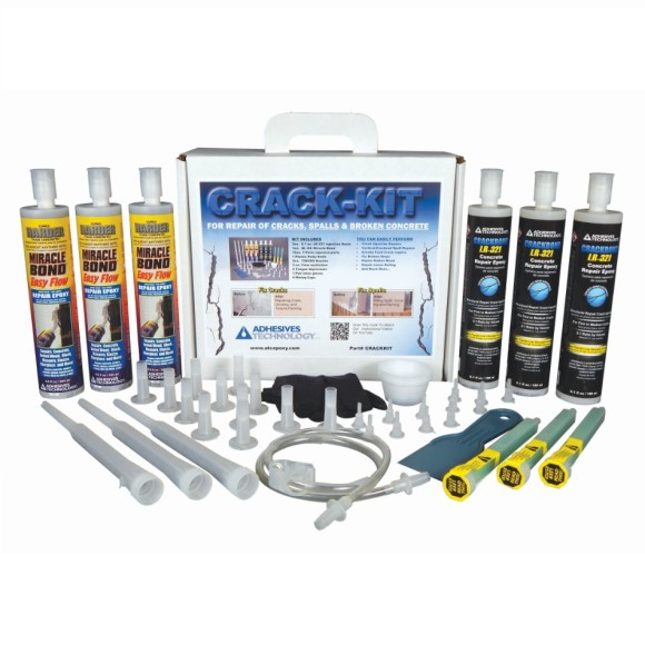 ATC Adhesives Technology Crack-Kit Concrete Repair Epoxy Kit