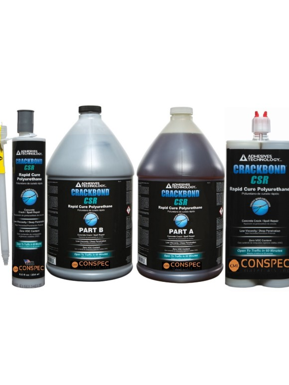 ATC Epoxy CRACKBOND CSR Crack and Spalled Concrete Repair Sizes