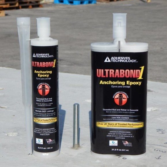 ATC Epoxy Ultrabond-1 Cartridges for Anchoring Rebar