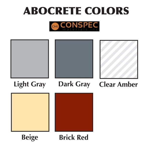 Abatron Abocrete Color Chart Concrete Restoration Conspec Materials