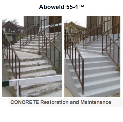 Abatron Aboweld 55-1 Epoxy Concrete Restoration and Maintenance