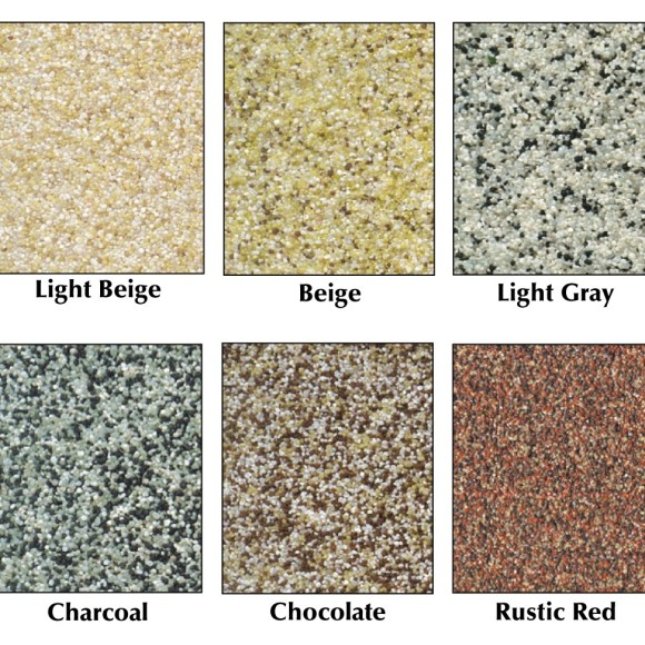 Abatron ColorGrit Color Chart for Epoxy Garage Floor Coatings