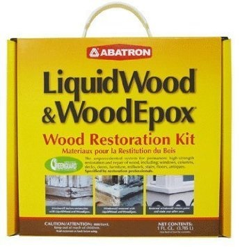 Abatron Lquidwood & WoodEpox Wood Restoration Kit