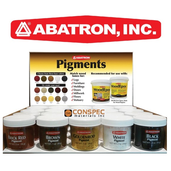 Abatron WoodEpox Pigments Display2