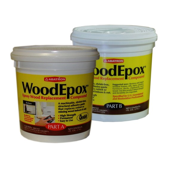 Abatron WoodEpox woodfiller historic wood restoration epoxy 2gal