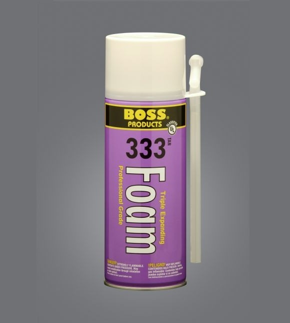 BOSS 333 Triple Expanding Foam