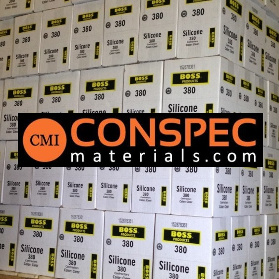 BOSS 380 Contractors Silicone available at Conspec Materials