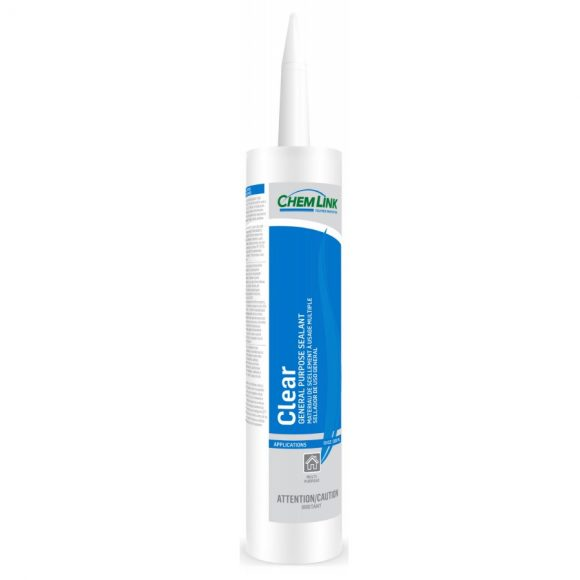 ChemLink Clear General Purpose Polyether Sealant 10-oz Non-Toxic