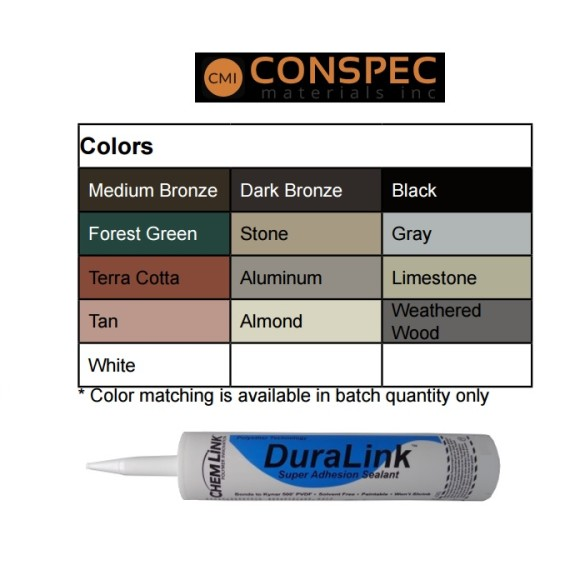 Chemlink Duralink Sealant Color Chart
