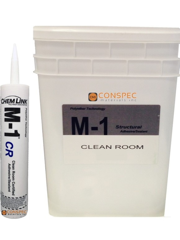 chemlink m-1 CR cleanroom sealant medical hospital computer solvent free caulking clean air