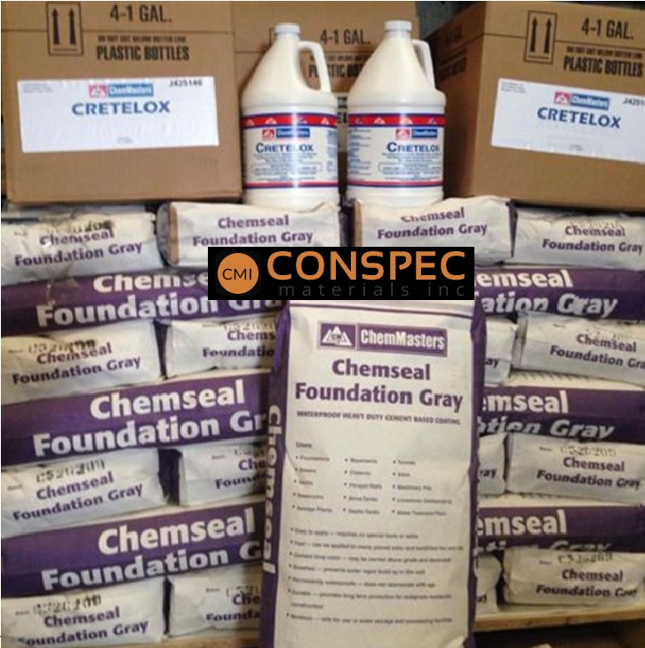 ChemMasters | ChemSeal Foundation Coat Waterproofing | CMI