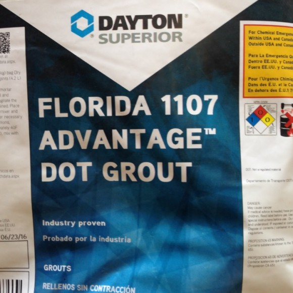 Dayton Superior 1107 Advantage DOT Non-Shrink Grout