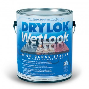 Drylok Wetlook Concrete Paver Sealer 1gal