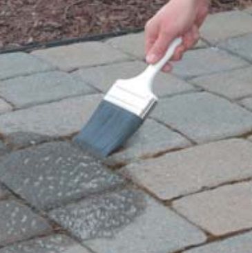 Drylok Wetlook Concrete Paver Sealer Brush Applied