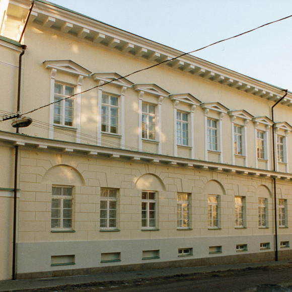 Drylok used on Masonry walls at the Historic Lithuanian Presidential Palace and Parliament Building