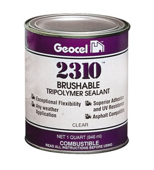 Geocel 2310 Brushable Roof Repair Coating 1-Quart