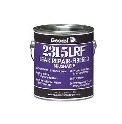 Geocel 2315-LRF Brushable Sealant gallon