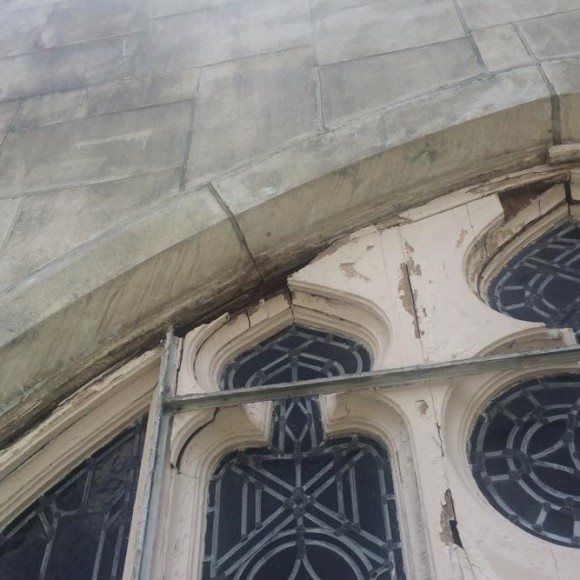 Historic Church Window Restoration with Abatron Wood Epox