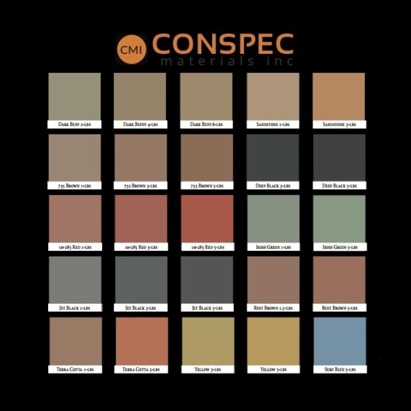 Lambert Lambco CMC Cement and Mortar Color Chart page2 Conspec