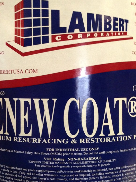 Lambert Renew Coat Concrete Resurfacing