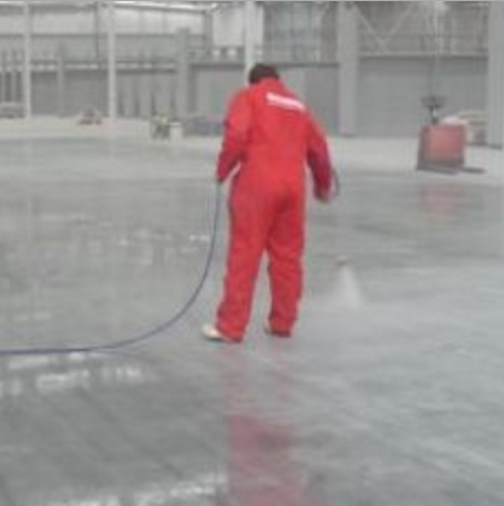 Lambert UV Super Seal Concrete Curing and Sealing Compound UV Stable application