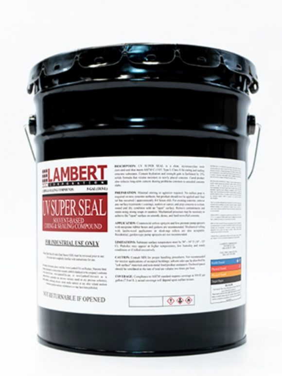 Lambert UV Super Seal High Gloss Cure and Seal Conspec Tampa Florida