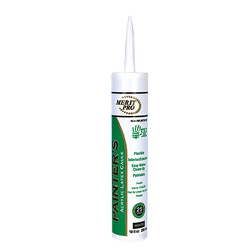 Merit Pro Painters Acrylic Latex 25 year Caulk Tube