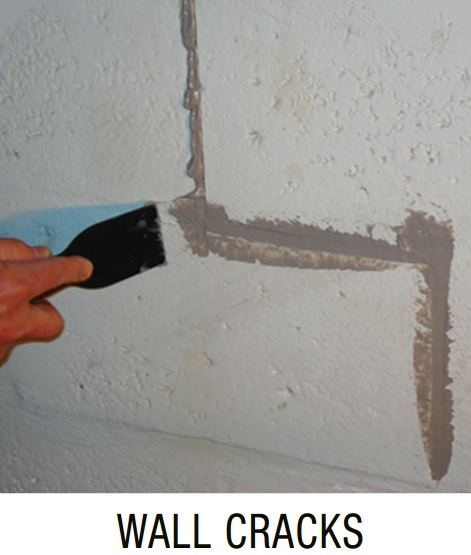 Miracle Bond Epoxy Wall Crack Repair