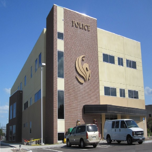 PWS Sealer used on UCF Public Safety Center Building