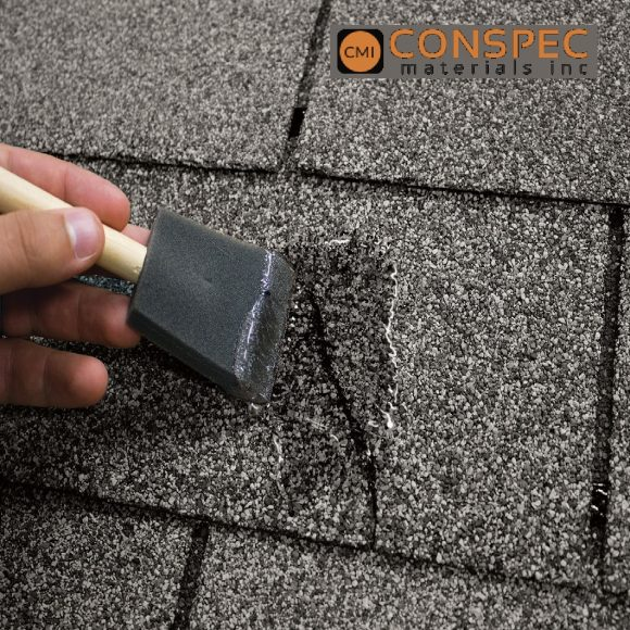 Roof Shingle Repair CLEAR Coating Sealer Waterproofing Tampa Florida Geocel