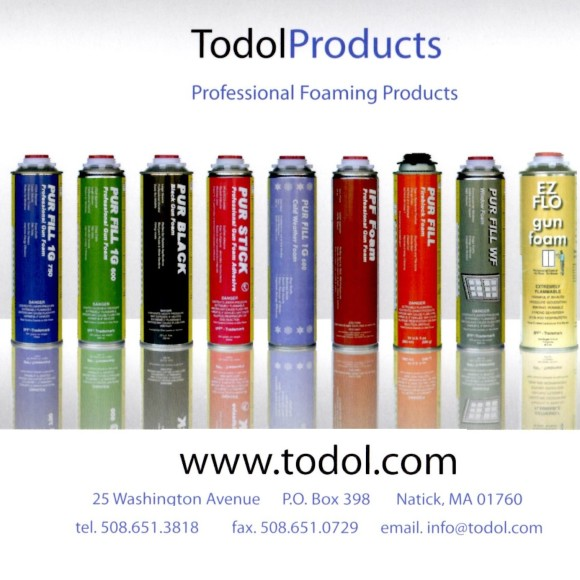 Todol Foam Product Line Up