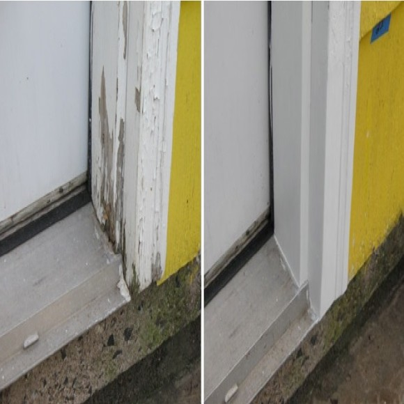 Abatron Wood Epox Door Frame Rotted Wood Repair
