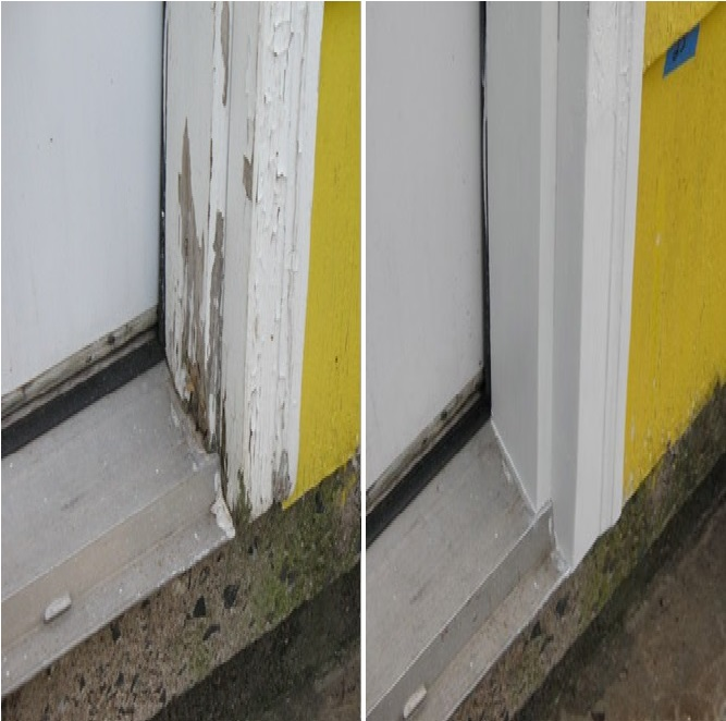 Window Frame Repairs Abatron Wood Epox Door Rotted Repair