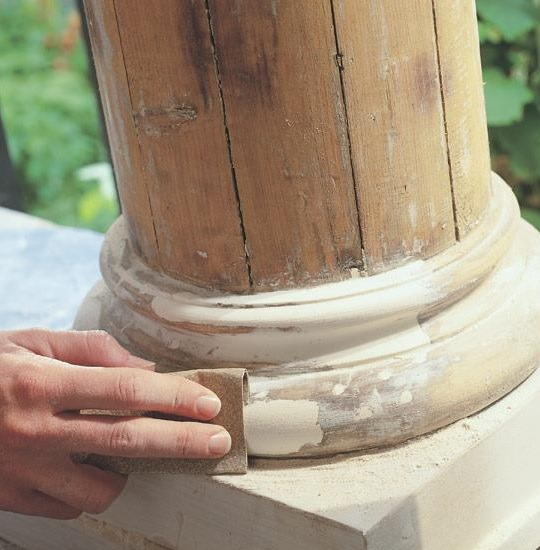Abatron Wood Epox Wood Repairs on Structural Columns