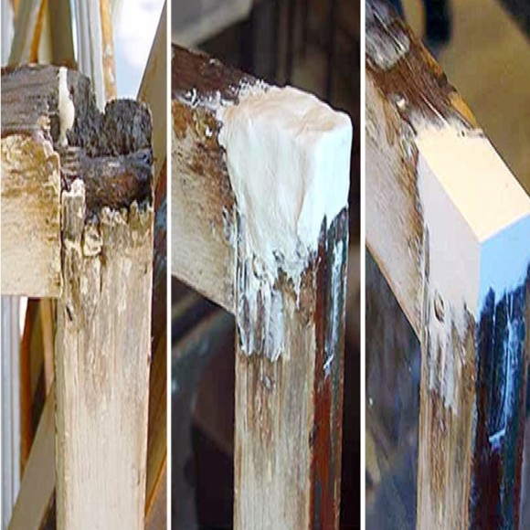 Wood Epox Wood Window Frame Repairs