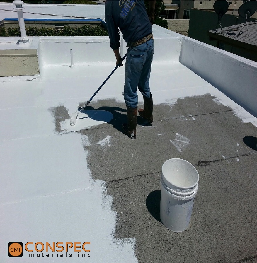 Marvelous ... Smartroof Silicone Roof Coatings Installation1 Conspec ...