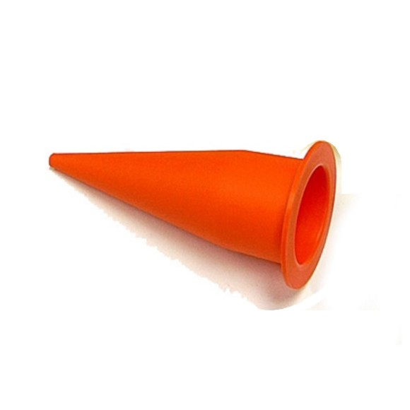 CMI Conspec Orange Cone Nozzle For Bulk Sausage Guns Equal 235-3