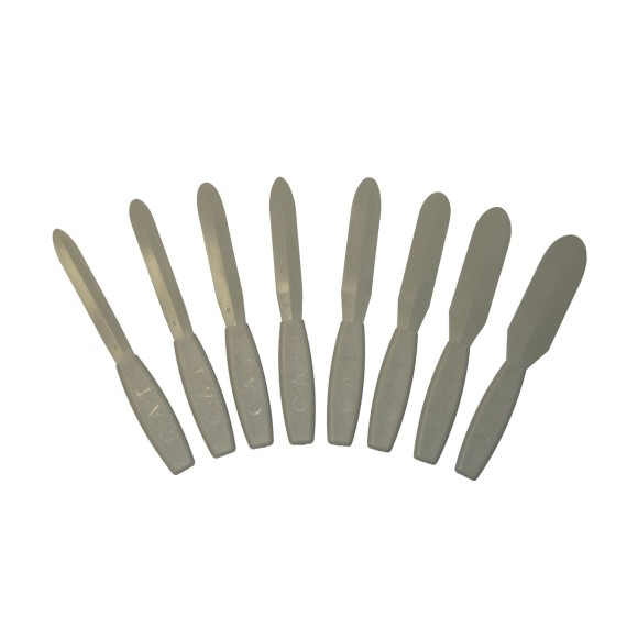 Albion Engineering 1058-G01 CAT Caulk Spatula Set of 8
