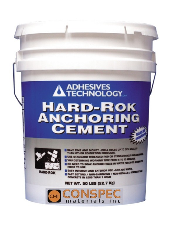 ATC Adhesives Technology hard-rok anchoring cement