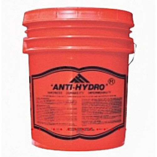 anti-hydro waterproofing concrete cement admix 5-gallon