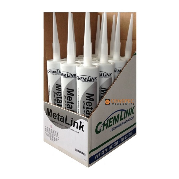 Chemlink MetaLink Silicone Roof Sealant Conspec Materials