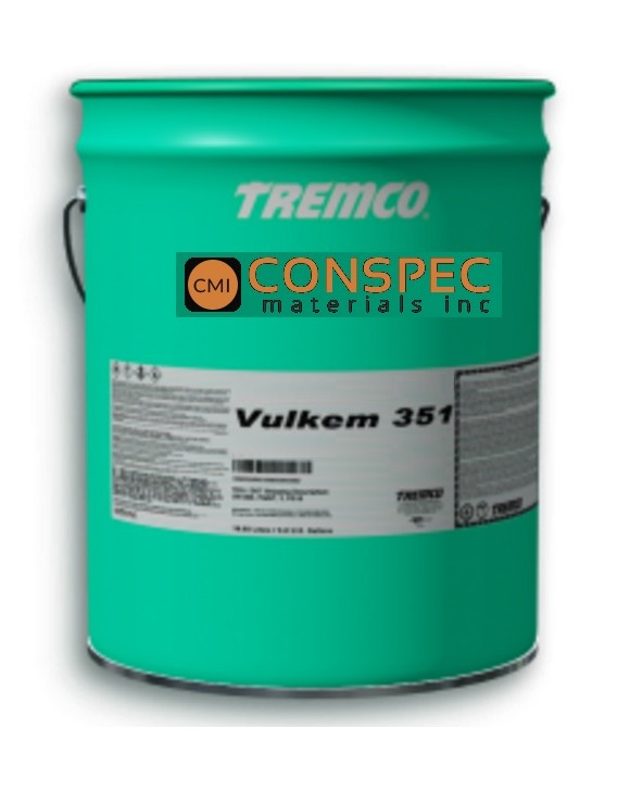 Tremco Vulkem 351 Liquid Applied Waterproofing Topcoat Urethane Paint 5-Gallon