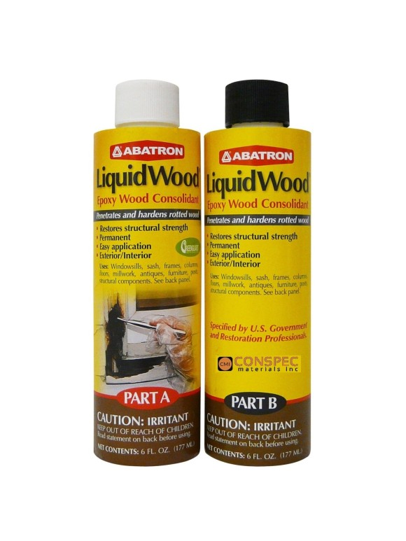 Abatron Liquidwood 12-oz kit wood hardener