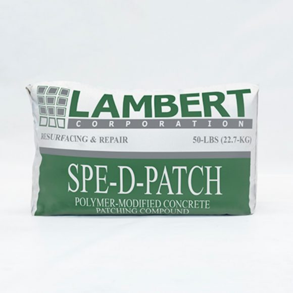 Lambert Lambco Spe-D-Patch Speedy Patch Concrete Repair Cement Conspec Tampa Florida