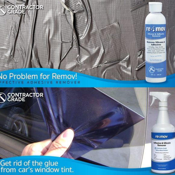 Re-Mov for Tape Residue Removal Window Tint