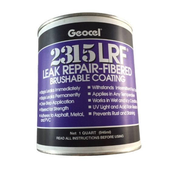 Geocel 2315-LRF Brushable Sealant 1 quart