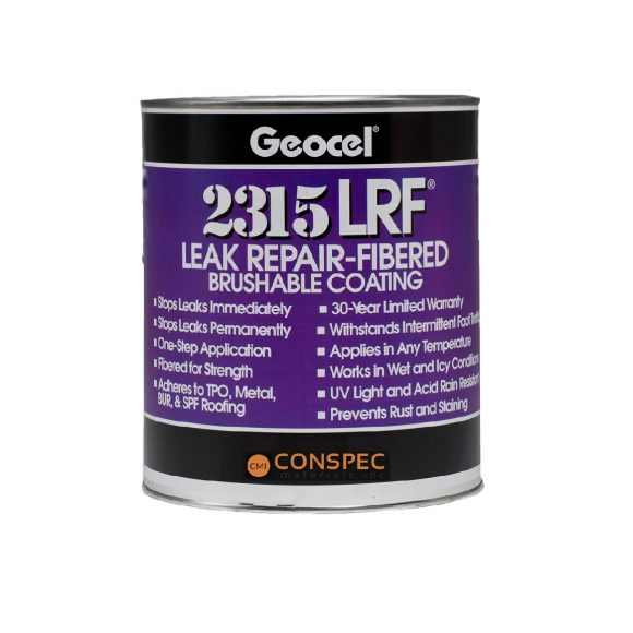 Geocel 2315-LRF Brushable Sealant 1 quart Conspec
